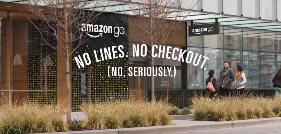 amazon go - digital store